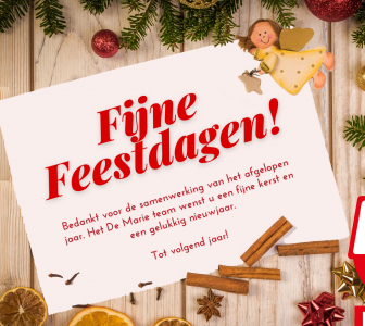 Zalig kerstfeest!