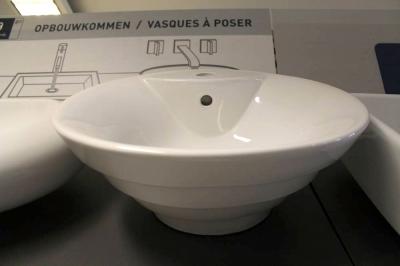 VMG Sorrento Opbouw wastafel Wit 47,5 x 47,5 x 20