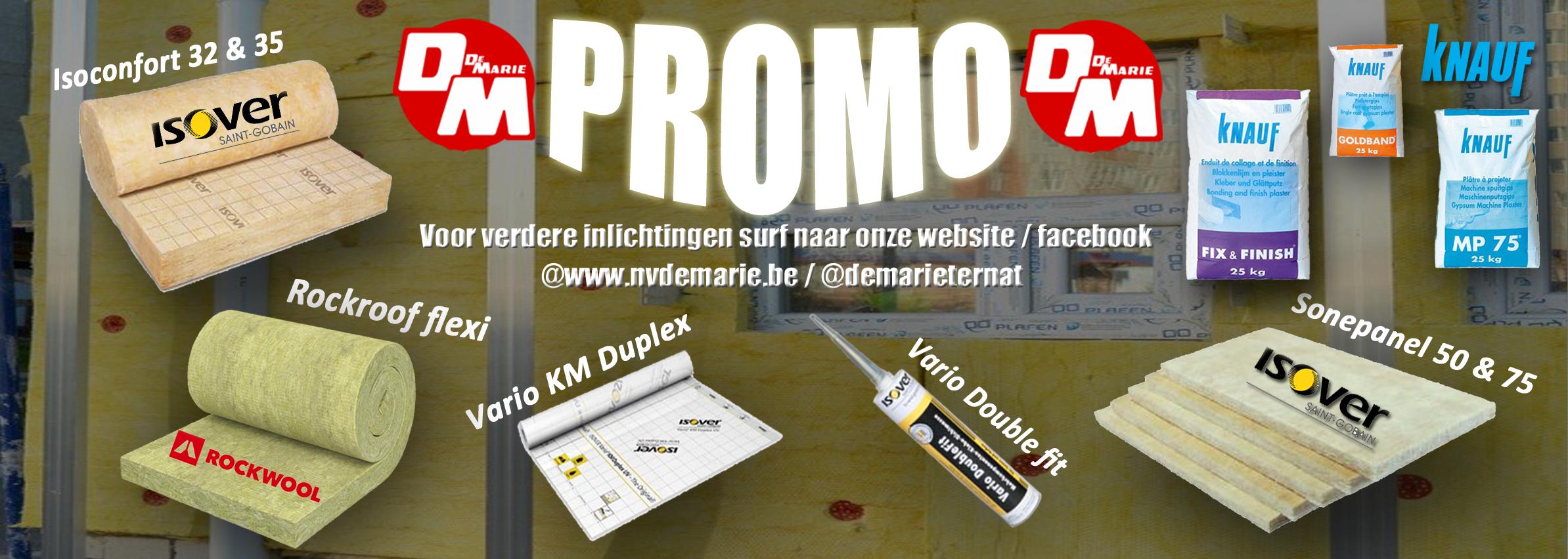 Bekijk onze promotiepagina voor meer informatie